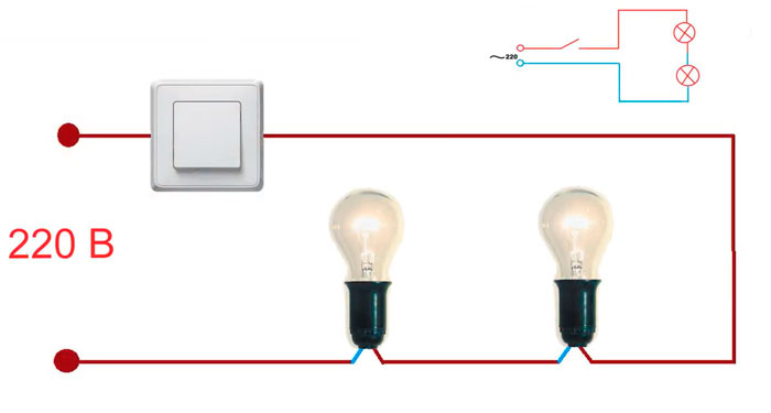 последовательное подключение лампочек для продления срока службы