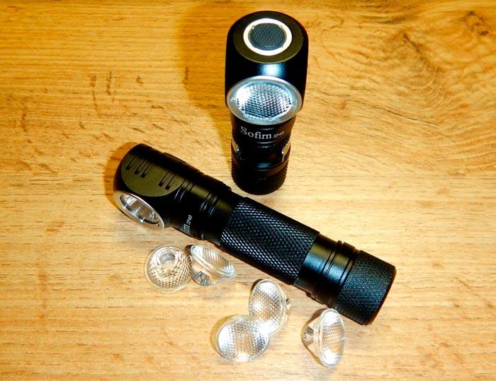 тир оптика для налобного фонаря