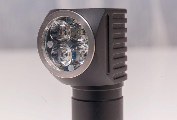 налобник с несколькими светодиодами