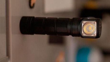 налобный фонарик с магнитом