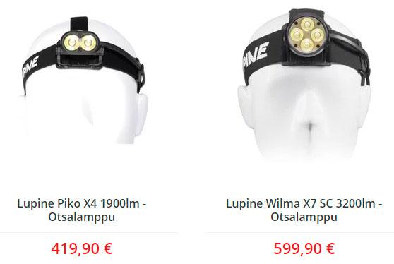 самый дорогой налобный фонарь lupine