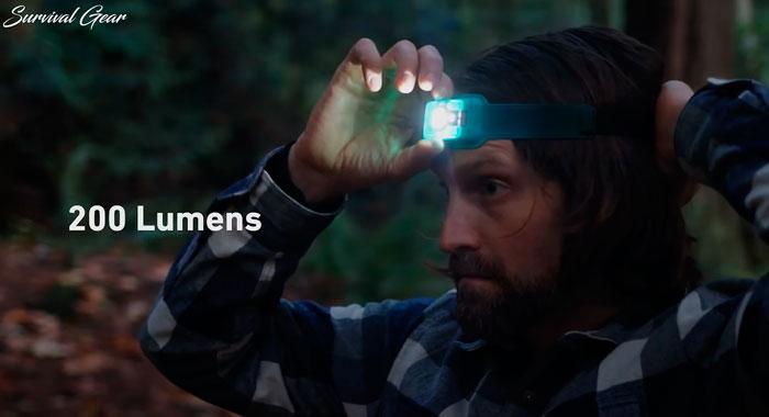 максимальная яркость пластиковых налобных фонарей