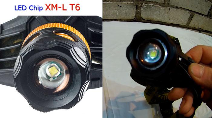 светодиоды т6 в налобнике