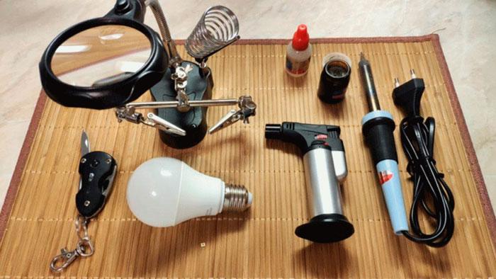 профессиональный ремонт лед лампочек