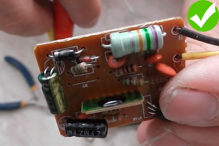 замена сопротивления на сенсорном выключателе какое выбрать кОм и ватт
