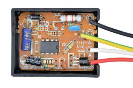 плата сенсорного выключателя