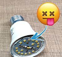 как отремонтировать светодиодную лампочку своими руками