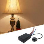 Как сделать сенсорную лампу из обычного настольного светильника?