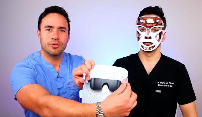 защитные очки для LED маски для лица