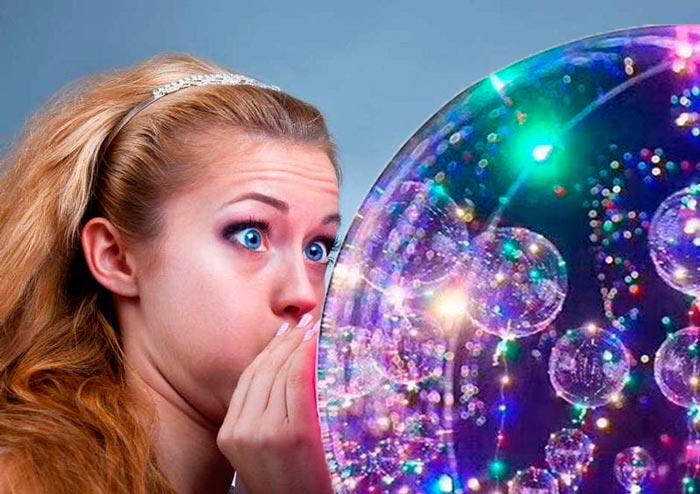 можно ли надуть светящийся шар на палочке ртом без насоса