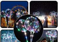 светящийся led шарик bobo как собрать и надуть